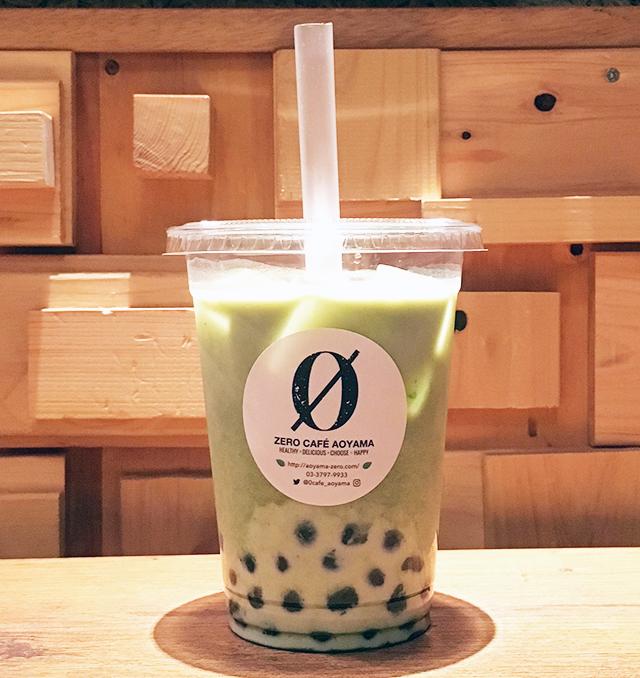 ZERO CAFE AOYAMAの桑茶