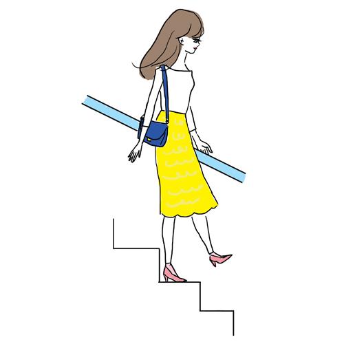 階段を降りるときにできるトレーニング