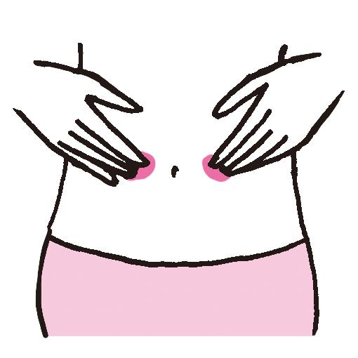就寝前の腸もみで下がり気味の腸を調整