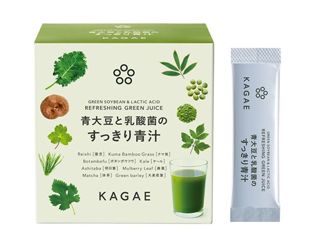 薬日本堂 カガエ|青大豆と乳酸菌のすっきり青汁