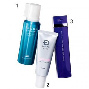 頭皮に優しい洗浄剤で皮脂のバランスを調整