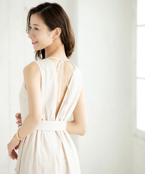 元宝塚女優の背中ケア術