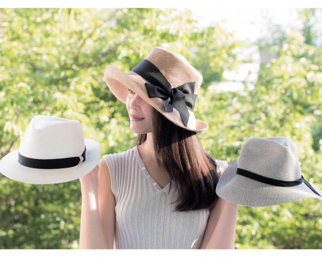 日焼け対策できる被りやすい帽子