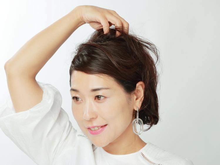 ピタっ!ふわっ!の簡単メリハリダウンヘア