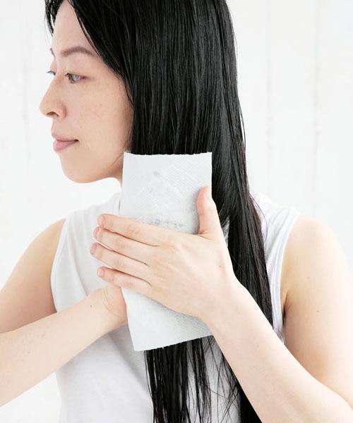 ヘアモデルの美髪ケア術