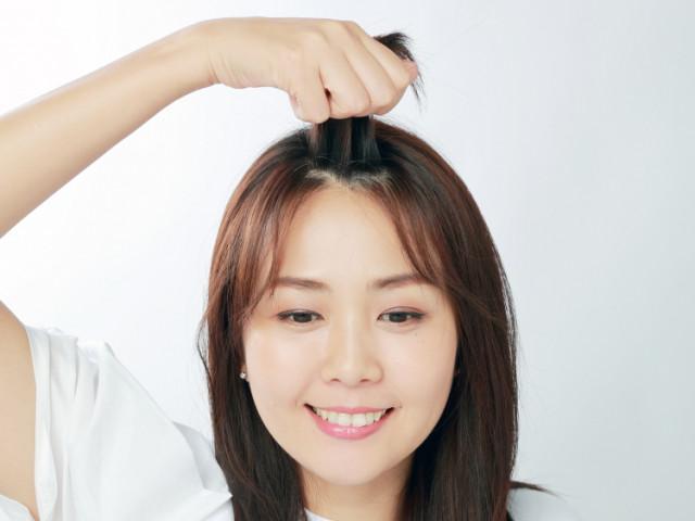 邪魔な前髪をすっきりさせるヘアピンテク