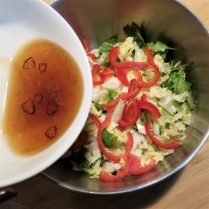 疲労回復にも◎!「白菜サラダ」