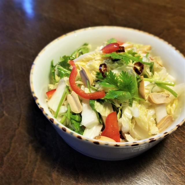 疲れているときは酸っぱいもの!白菜サラダ