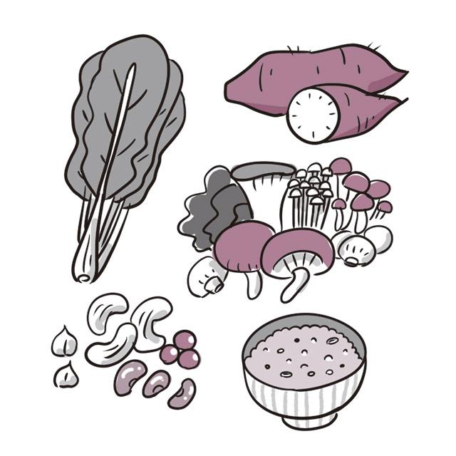 食物繊維&発酵食品を選んで腸の働きを活性化