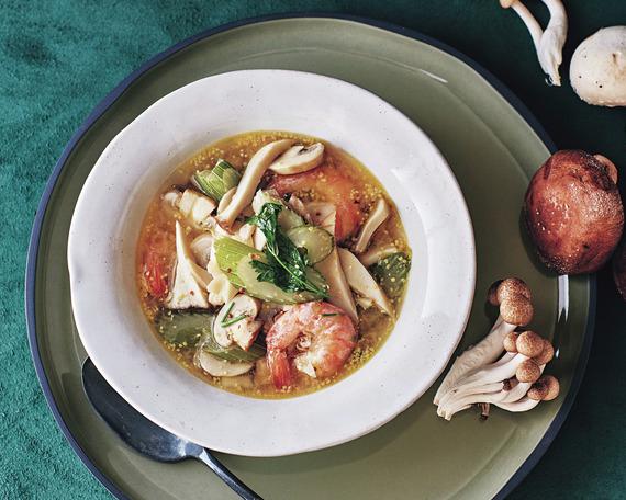 食物繊維たっぷりのうまみスープ