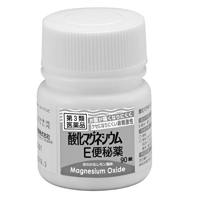 健栄製薬|酸化マグネシウムE便秘薬 第3類医薬品