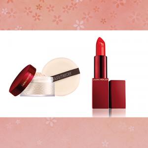 ローラ メルシエの人気フェイスパウダー&リップが真紅の限定パッケージに!完売必至のアイテムをセットで3名様にプレゼント!【2020年福袋プレゼント】