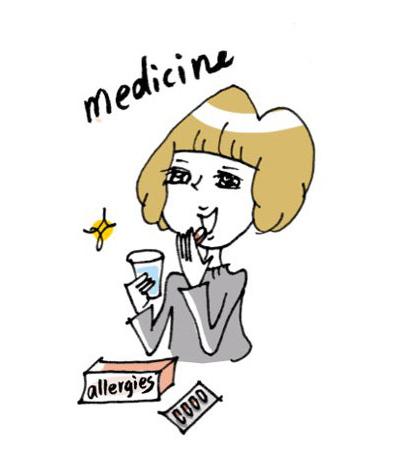 主に「抗ヒスタミン薬」「抗ロイコトリエン薬」「鼻噴霧用ステロイド薬」