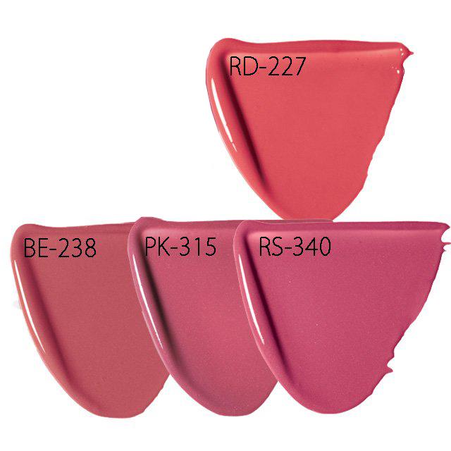 ピュアリーステイルージュ RD-227、BE-238、PK-315、RS-340