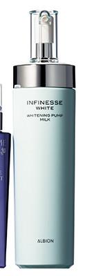 アルビオン|アンフィネス ホワイト ホワイトニング パンプ ミルク