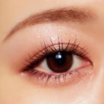 【1】目の下の粘膜にベージュのアイラインをON