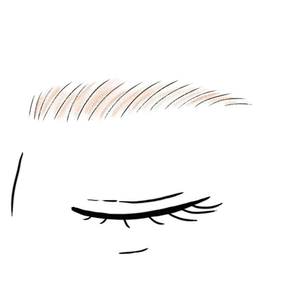 その日の気分に合わせて変える眉メイク