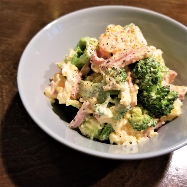 【レシピ2】アンチエイジングパワー爆発!ブロッコリーで食べ応え満点サラダ